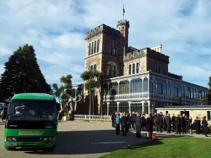 Bottom Bus transfer to Larnach Castle Function.