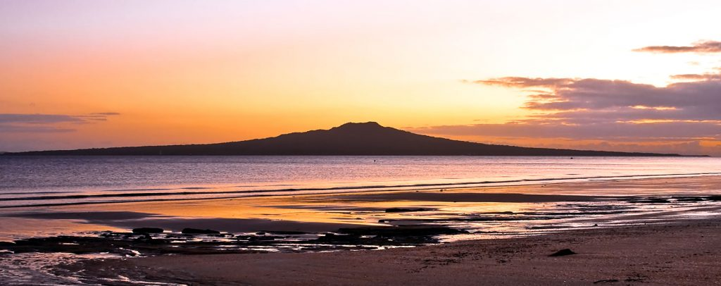 Rangitoto Island Sunset